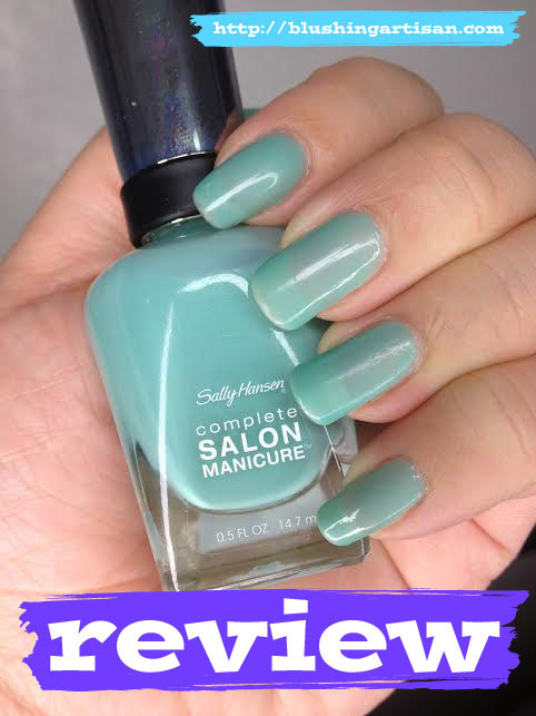 Sally Hansen Complete Salon Manicure     Color  540 JadedSally Hansen Jaded